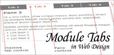 Module Tabs in Web Design
