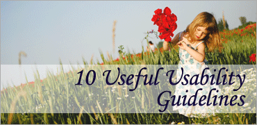 10 Useful Usability -Guidelines