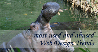 Most Used and Abused Web Design Trends