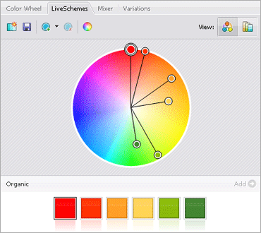ColorSchemer Studioのキャプチャ:3