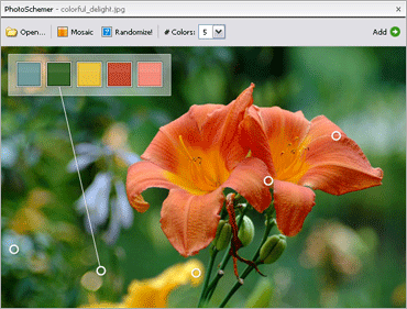 ColorSchemer Studioのキャプチャ:8