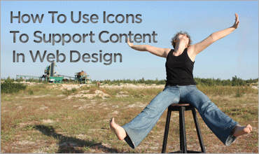 How To Use Icons To Support Content In Web Design