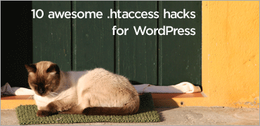 10 awesome .htaccess hacks for WordPress