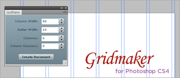 Gridmaker for Photoshop CS4