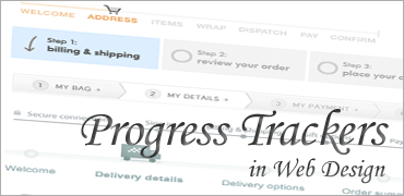 Progress Trackers in Web Design
