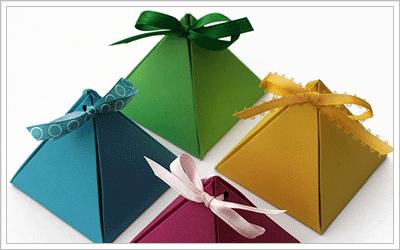 ハート 折り紙:折り紙 ギフトボックス 折り方-coliss.com