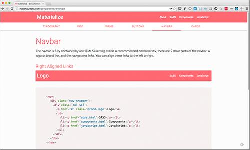 Webページでよく使うさまざまなコンポーネントが簡単に利用できるCSS