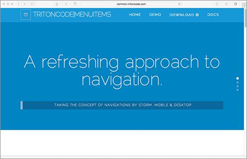 [JS]縦長ページでデスクトップでもスマホでもデザインの邪魔をしないナビゲーションを実装するスクリプト -MenuItems