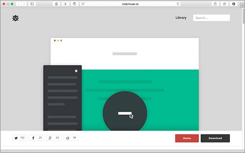 [CSS]これから増えてきそうなMaterial Designにぴったり!気持ちいいアニメーションで表示させるモーダルコンテンツ