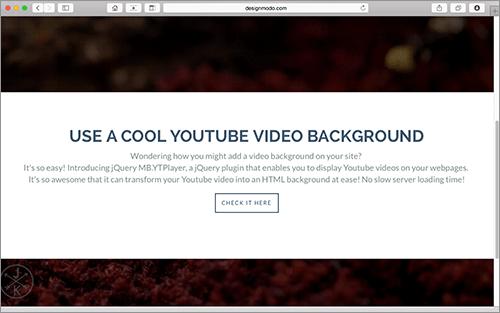 JS]YouTubeの動画をページ全体の背景に配置し、レスポンシブ対応の今時の
