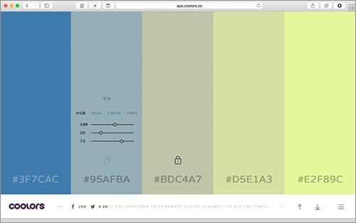 デザインで色の組み合わせを決めるのに役立つ便利なオンラインツールのまとめ