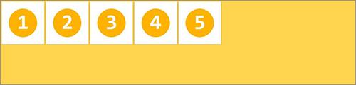 align-items: flex-start; の実装サンプル