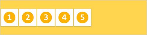 align-items: center; の実装サンプル