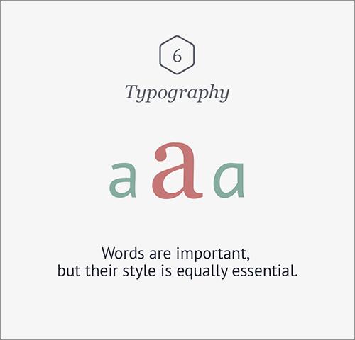 Typography -タイポグラフィ