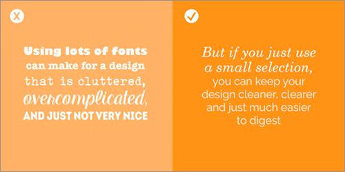 フォント選びののよくある間違いと解決方法