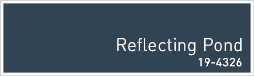 Pantone 2015年秋のトレンドカラー: Reflecting Pond