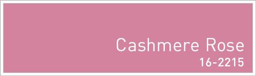 Pantone 2015年秋のトレンドカラー: Cashmere Rose