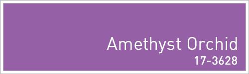 Pantone 2015年秋のトレンドカラー: Amethyst Orchid
