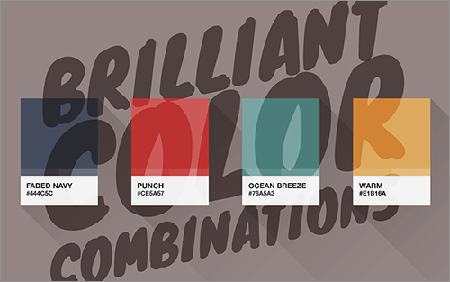 100 Brilliant Color Combinations