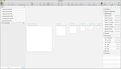 Sketch 3.4の新機能: Material Designのアイコン作成