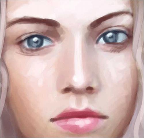 塗りのサンプル 1