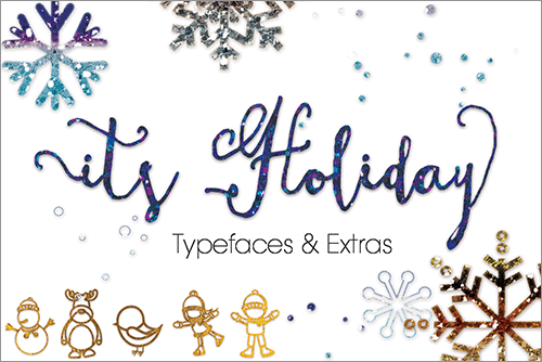 Holiday Font, Calligraphy Font