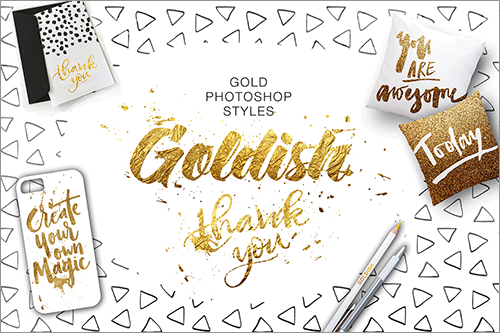 Goldish - Gold Styles