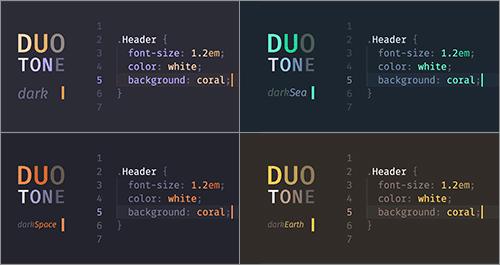 コードがはっきりと見やすく使いやすい!Sublime TextとAtomとVim対応のテーマ -DuoTone Themes | コリス
