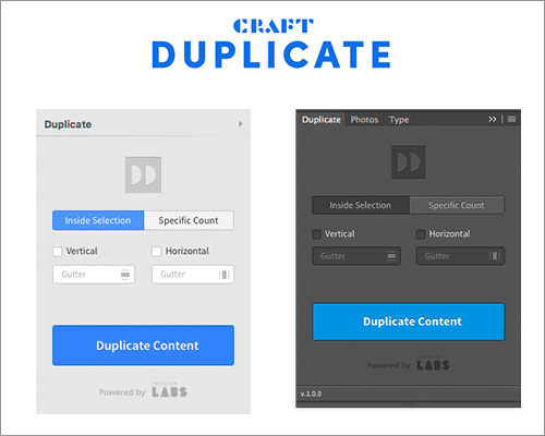 Craft: Duplicate