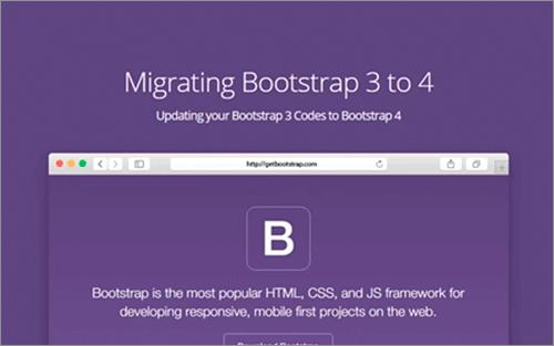 Bootstrap 3からBootstrap 4に移行する時に知っておく必要がある注意点のまとめ