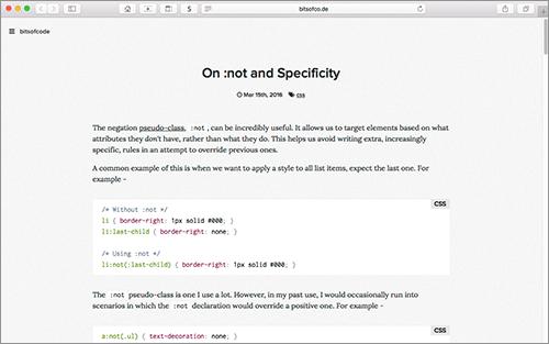 [CSS]否定疑似クラス「:not」の便利な使い方と使う時の注意点