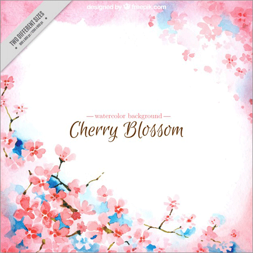桜のイラストのフリー素材