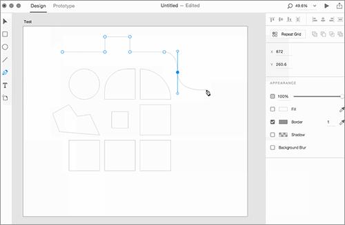 Adobe XDのシェイプ