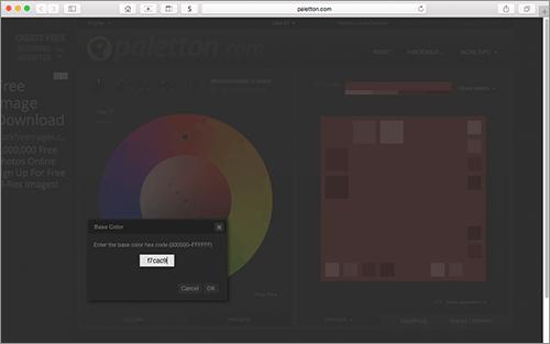 RGB値を入力