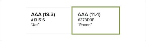 AAA評価を得た中で最も明るいグレー
