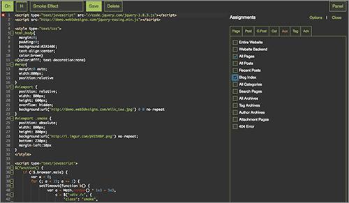CSS & JavaScript Toolboxのキャプチャ