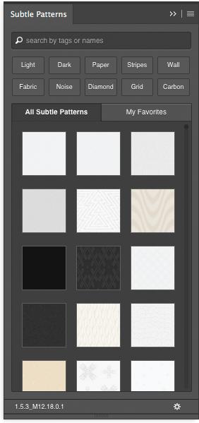 Subtle Patternsのキャプチャ