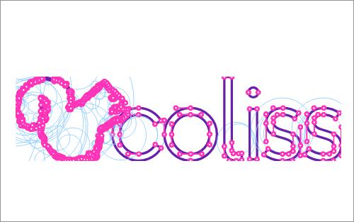 SVGで作成したコリスのロゴ