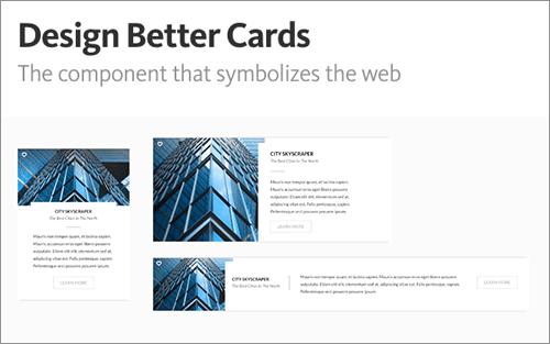 優れたカードをデザインする -最近のWebを象徴するUIコンポーネント