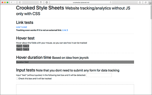 cssのこのアイデアはすごすぎる webページのトラッキング 解析ができる
