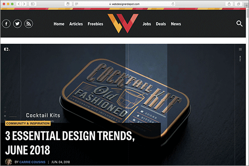 web制作者がチェックしておきたい 最近のwebサイトで見かけるデザインの