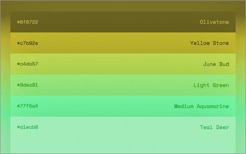 これすごい便利 17 530種類の色の名前がすぐに分かる無料の辞書ツール