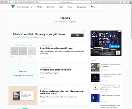 It is good for studying Vue js! A tutorial for implementing UI
