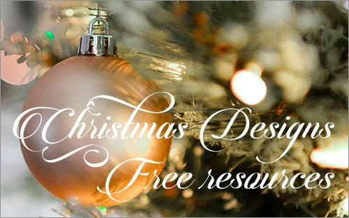商用利用無料クリスマス用の高品質なイラスト写真フォントが