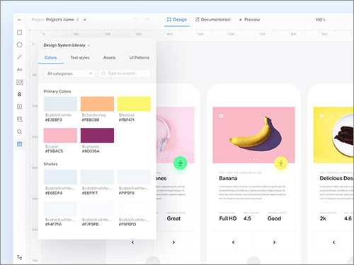 UXPin Design Systems Tool