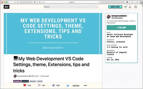 VSCodeでおすすめの設定・テーマ・機能拡張・使い方