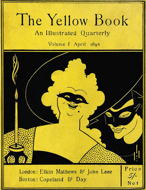 The Yellow Book, Vol. 1—Cover