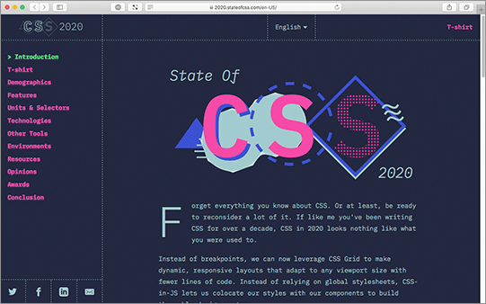 The State of CSS 2020