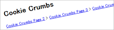 Cookie Crumbs