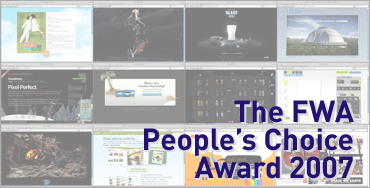 The FWA - People's Choice Award 2007